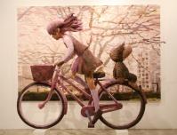 ''SAYONARA SANKAKU'', 2008, panting, polystyrene based sculpture