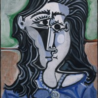 Head of a Woman Pablo Picasso (Spanish, Malaga 1881–1973 Mougins, France) Date: 1960