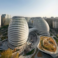 ARCHITECTURE - Galaxy Soho, Bejing Designed by Zaha Hadid