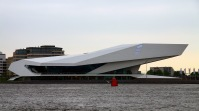 The EYE Film Institute, Amsterdam, Netherlands, 2012. Architect: Delugan Meissl Associated Architects.