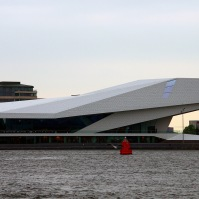 The EYE Film Institute, Amsterdam, Netherlands, 2012. Architect: Delugan Meissl Associated Architects.