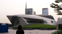 The Guangzhou Opera House, Guangzhou, China, 2010. Architect: Zaha Hadid.