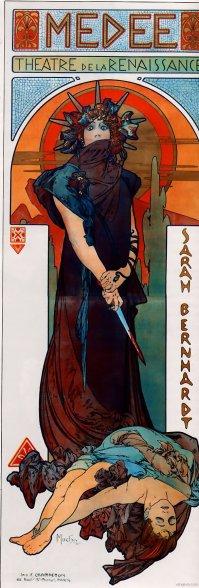Poster for 'Médée' (1898)