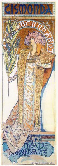Poster for 'Gismonda' (1894)