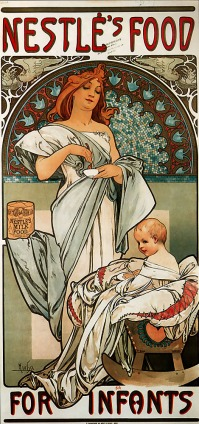 Poster for 'Nestlé's Food for Infants' (1897)