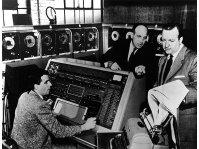 UNIVAC Predicts an Eisenhower Win! Notice CBS' Anchorman Walter Cronkite