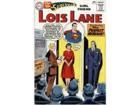 Superman's girlfriend Lois Lane, comic featuring UNIVAC on the cover