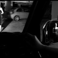"""Carpark"" (2006). Photograph by Wong Hoy Cheong/Tepper Takayama Fine Arts."