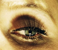 """Eye #1 (Flood)"" (2012). Photograph by Alex Prager/Yancey Richardson."