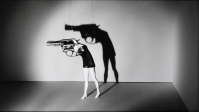"""Walking Gun"" (1991). Photograph by Laurie Simmons/Salon 94."