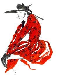 Hubert De Givenchy, 1984.