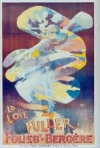 The Loïe Fuller show, Paris, 1894. Artist: Pal (Jean de Paleologu).