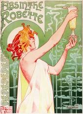 Absinthe Robette, Bruxelles, 1896. Artist: Privat Livemont.