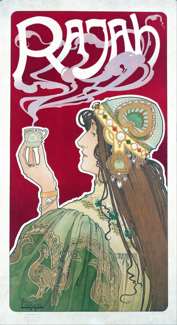 Rajah Tea, Bruxelles, Bruxelles, 1896. Artist: Privat Livemont.