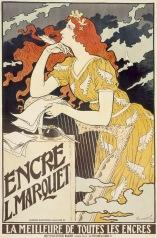 L. Marquet ink, France, 1892. Artist: Eugène Samuel Grasset.