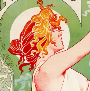 Art Nouveau in advertising