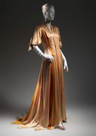 """James's """"Ribbon"""" dress 1938-1940."""