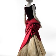 A ball gown από το 1949-1950.