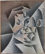 Head of a Woman (Portrait of the Artist's Mother) Juan Gris Date: Paris, 1912 Medium: Oil on canvas