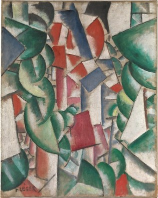 Houses under the Trees Fernand Léger Date: 1913 Medium: Oil on canvas
