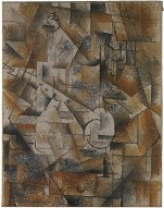 Still Life with Clarinet (Bottle and Clarinet) Georges Braque Date: Céret, summer–autumn 1911 Medium: Oil on canvas