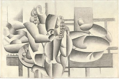 Three Women Fernand Léger Date: 1920 Medium: Graphite on white wove paper