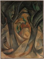 Trees at L'Estaque Georges Braque Date: L'Estaque, summer 1908 Medium: Oil on canvas